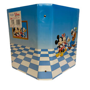 1989 Disney MICKEY MOUSE & Gang Photo Album by Holson Vintage USA New