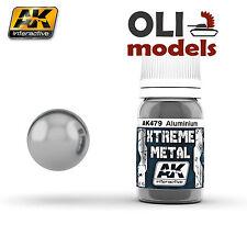 Xtreme Metal  Aluminum Metallic Paint 30ml Bottle - AK Interactive 479