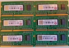 Transcend 1GBx6 Total 6gb Of Ram DDR3 1333 SO