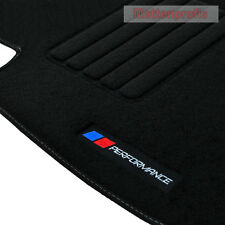 Velour tapis de sol Logo performance pb pour BMW 1er e87 5-türig à partir de Bj. 2003 - 2013