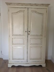 PAINTED ARMOIRE CUPBOARD