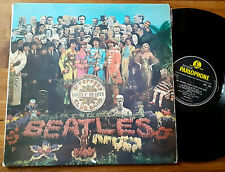 Orig. LP THE BEATLES Sergent Peppers...PARLOPHONE PMC 7027 Great Britain Press