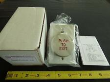 1 x Pneumatic Exit Button by Dortronics with LED  R5286-P23DAxE1RxL