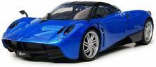 PAGANI HUAYRA BLUE 1/18 DIECAST CAR MODEL BY MOTORMAX 79160