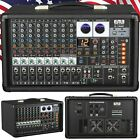 EMB 10P 600W 10 Channel Power Mixer Console w/ DSP Effects, Bluetooth, Record photo