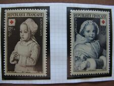 FRANCE neufs  n° 914-915 CROIX-ROUGE 1951