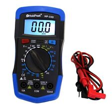 Digital Multimeter Amperemeter hFE Ohm Transistor Hold