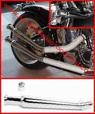 TERMINALE MARMITTA SCARICO TRUMPET ALTO MOTO CUSTOM HARLEY CAFE RACER BMW GUZZI