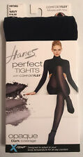 New w/tags, HANES PERFECT TIGHTS NAVY HST003 NAVY SIZE LARGE