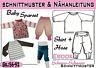 Sparset 1***pdf.Schnittmuster und Nähanleitung Pumphose + Shirt Gr.:50-92