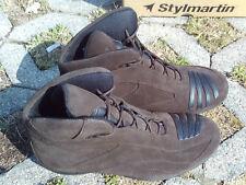 Stylmartin Sydney High dunkelbraun Motorrad Stiefel Freizeit Boots Größe 38