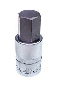 "720419 19mm Hex/ Allen Socket Key Bit Tool 1/2"" Drive H19 Short 62mm in Length"