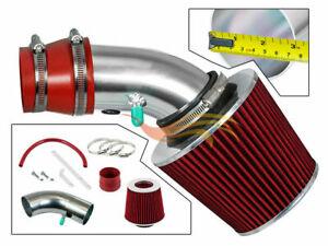 BCP RED For 1990-1997 Prizm/Corolla 1.6L/1.8L L4 Ram Air Intake Kit+Filter