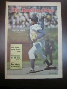 THE SPORTING NEWS JULY 3 1971 *NO LABEL* FERGIE FERGUESON JENKINS CHICAGO CUBS