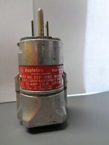 Nice Appleton ECP-1523 Explosion Proof Electrical Plug Model B