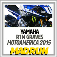 Kit Adesivi Yamaha R1 - R1M Team SBK Graves MotoAmerica 2015 - Light Version