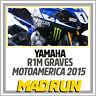 Kit Adesivi Yamaha R1 - R1M Team SBK Graves MotoAmerica 2015 - Light Version