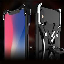 For iPhone XS Case Soul Caliber Blade Master Ring Hold Aerospace Aluminum Metal