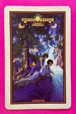 Vintage Swap Playing Card Art Deco The Waterfall Parrish Edison Mazda Ladies