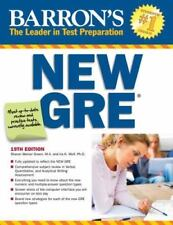 Barron's New GRE: Graduate Record Examination [Barron's GRE] [ Weiner Green M.A.