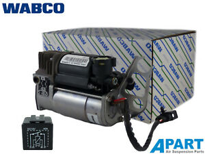 Audi Q7 OEM WABCO Compressor And Relay For Air 4154033050 OE 4L0698007