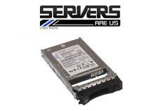 """IBM 300gb 2.5"""" Hard Drive 49Y1836 49Y1840 10K HS SFF lg SAS"""