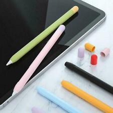 For Apple Pencil 1st/2nd Gen Pen Silicone Case Cover Holder Sleeve Skin Pou D2K1