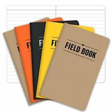 Pocket Memo Pad Field Work Book 5 Pack Refill Notepad Travel Journal Notebook