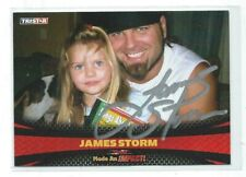 James Storm Signed 2009 Tristar TNA Impact Card #94