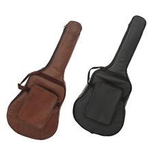 Thicken Guitar Gig Bag Soft Case PU Leather Bag for 40'' 41'' Guitar Parts