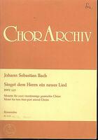 """J. S. Bach - """" Singet dem Herrn ein neues Lied """" BWV 225 - Motette"""