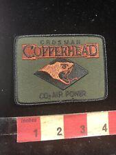 Gun Related Advertising Patch CROS MAN COPPERHEAD CO2 AIR POWER Cartridges 98O