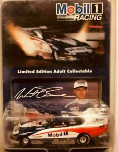 WHIT BAZEMORE 1995 MOBIL 1 1/64 ACTION DIECAST DODGE FUNNY CAR 1/12,500