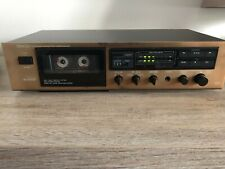 Denon DR-M07 Stereo Cassette Deck Bronze Colored Front Rare with Manual.