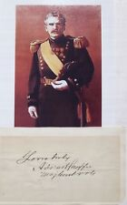 General Adna Chaffee Chief Of Staff Army Civil & Indian Wars Veteran Autograph