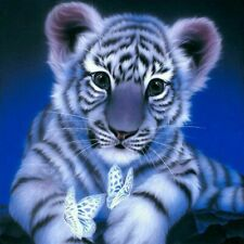 Tiger Diamond Painting Drill DIY 5D Embroidery Cross Stitch Home Art Decor Tools