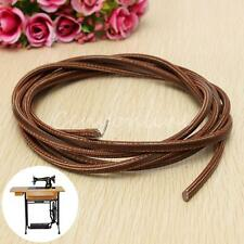 """71"""" 3/16"""" Leather Belt Treadle Sewing Machine Parts with Hook For Singer/Jones"""