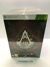 ASSASSIN'S CREED III 3 FREEDOM COLLECTOR'S EDITION - XBOX 360 - NUOVO SIGILLATO