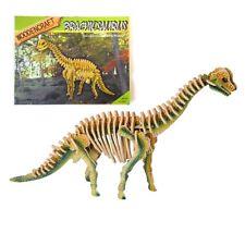 3d Puzzle Dinosauro Brachiosauro MODELLO TOY BOY Regalo Di Compleanno Party Borsa Filler