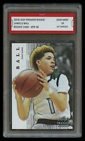 LAMELO BALL 2018 LEAF PREMIER 1ST GRADED 10 ROOKIE CARD RC 2020 TOP DRAFT PICK