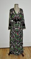 BLOSSOM BY THREE Design BoHo Floral Maxi Dress