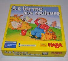 Muh & Mah (La Ferme aux Couleurs) Haba Game wooden Pieces (not complete)