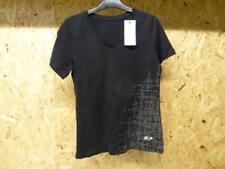Neuf Tee shirt  noir col en V femme T S HELD
