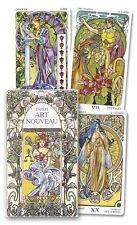 Art Nouveau Tarot - Beautiful Artistic Divination - 78 Card Deck & Guide Booklet
