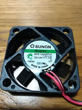 350 x Sunon,MagLev,Cooling,Fan,KDE1204PFV1,40mmx40mmx10mm,DC12V,1.1W,2 Wire