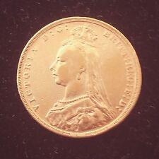 Great Britain Sovereign Victoria Jubilee Head 916/1000 22K Gold Coin Random Year