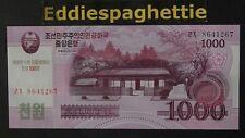 Korea North 1000 Won 2008 100TH COMM UNC P-CS15