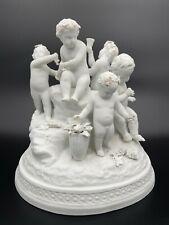 GROUPE BISCUIT DE VINCENNES SEVRESXIX EME RONDE DE 6 ENFANTS A LA BACCHUS H3363