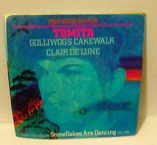 "TOMITA-GOLLIWOG'S CAKEWALK- 7"" 45 RPM Record Pic Sleeve- 1974 PROMO"