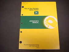 John Deere Operators Manual No.Om-Ty4031,Issue F3,A50C,A90C,A150C,Space Heaters